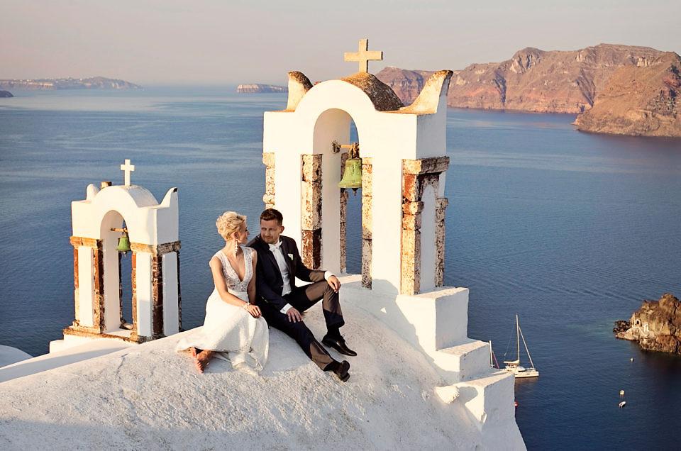1000 powodów do szczęścia na ślubie w Grecji