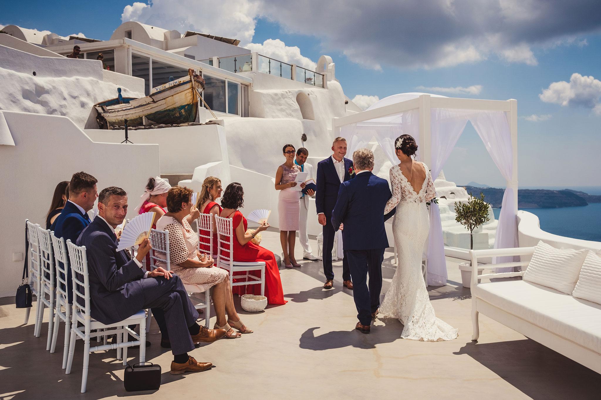 fotograf ślubny Grecja