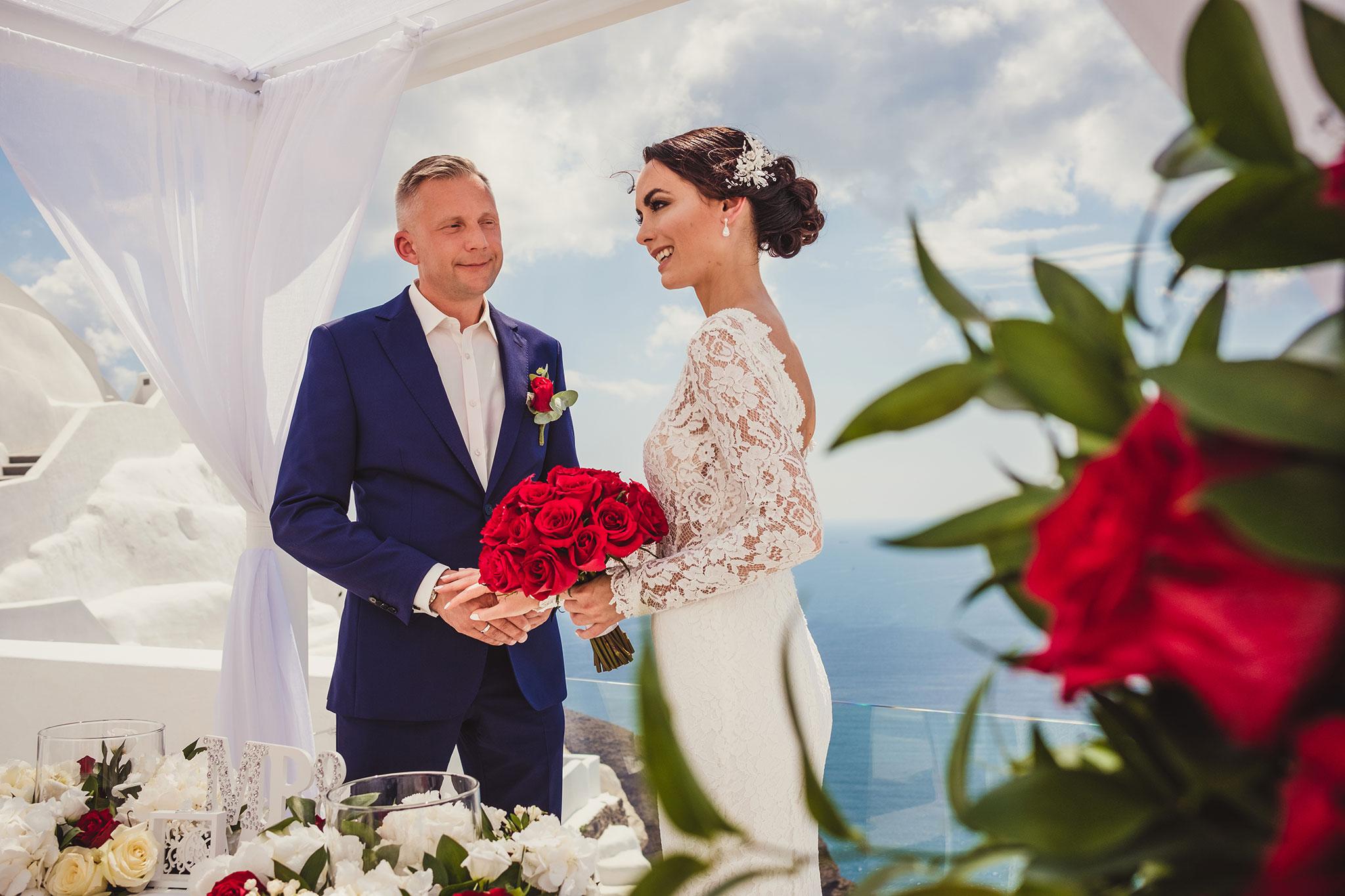 ślub wGrecji