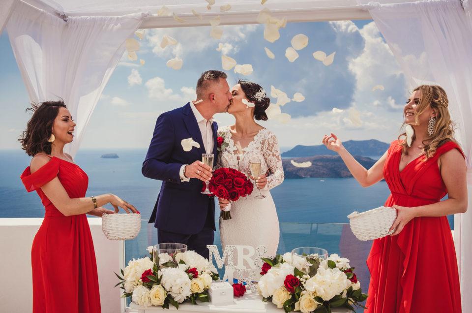 Ślub w kolorze miłości