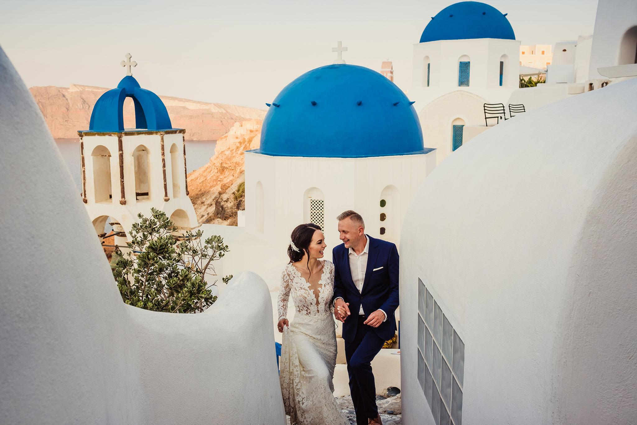 plener ślubny wGrecji