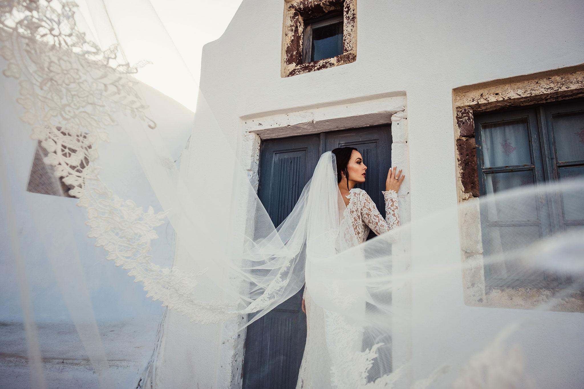najlepsze zdjęcia ślubne Santorini