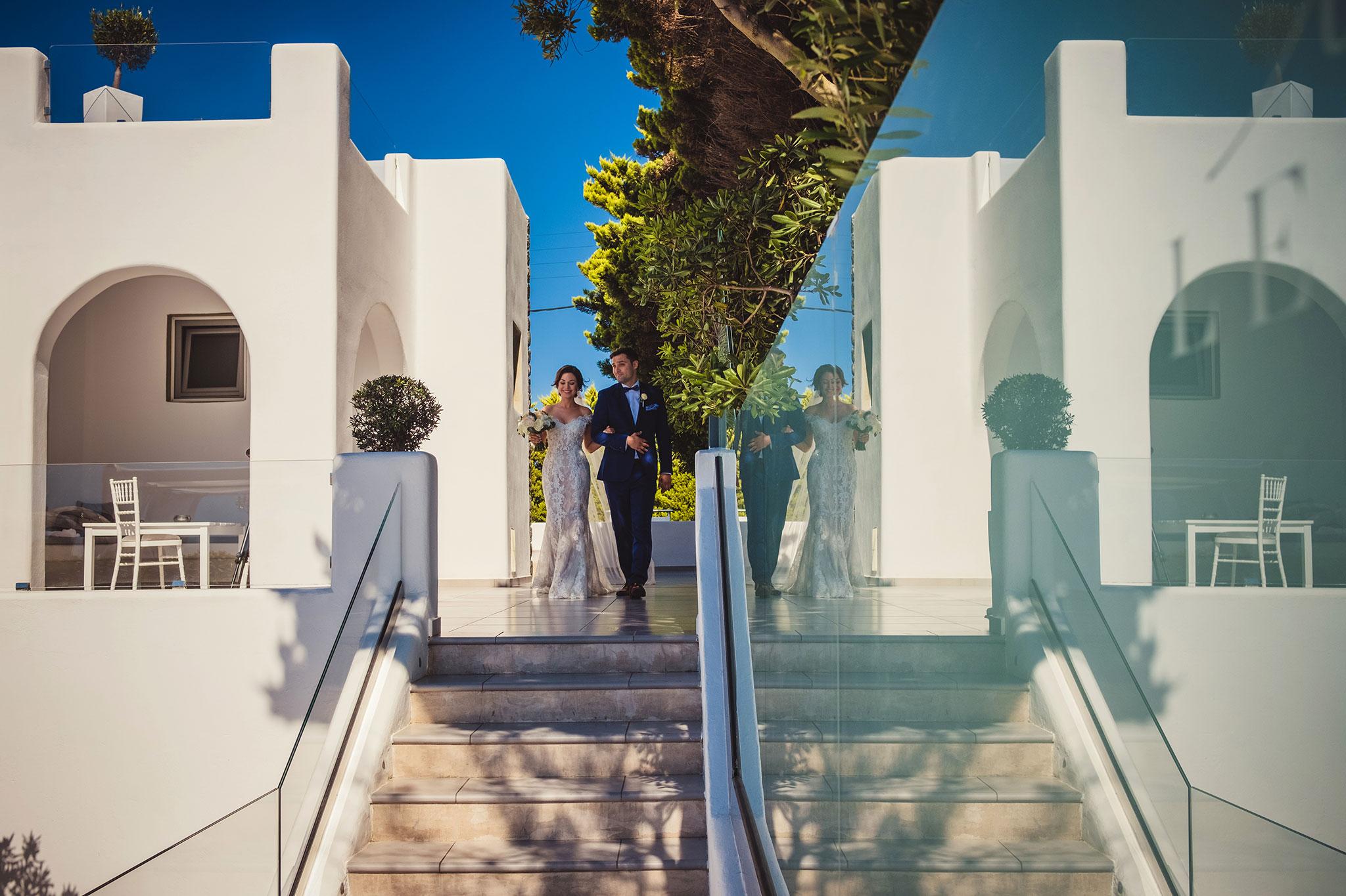 przygotowania do ceremoni ślubnej