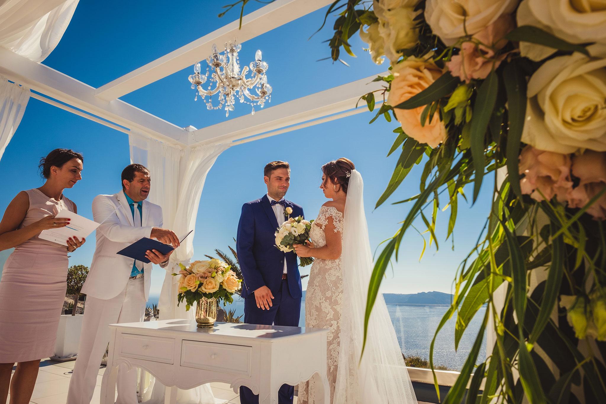 ślub nad morzem