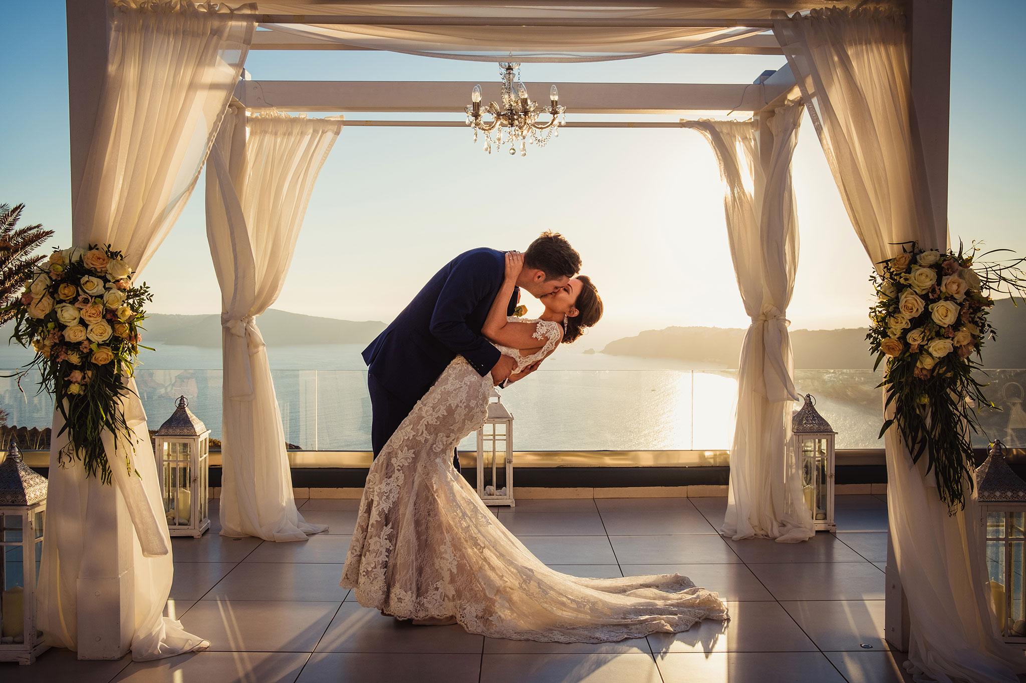 zdjecia ślubne Santorini
