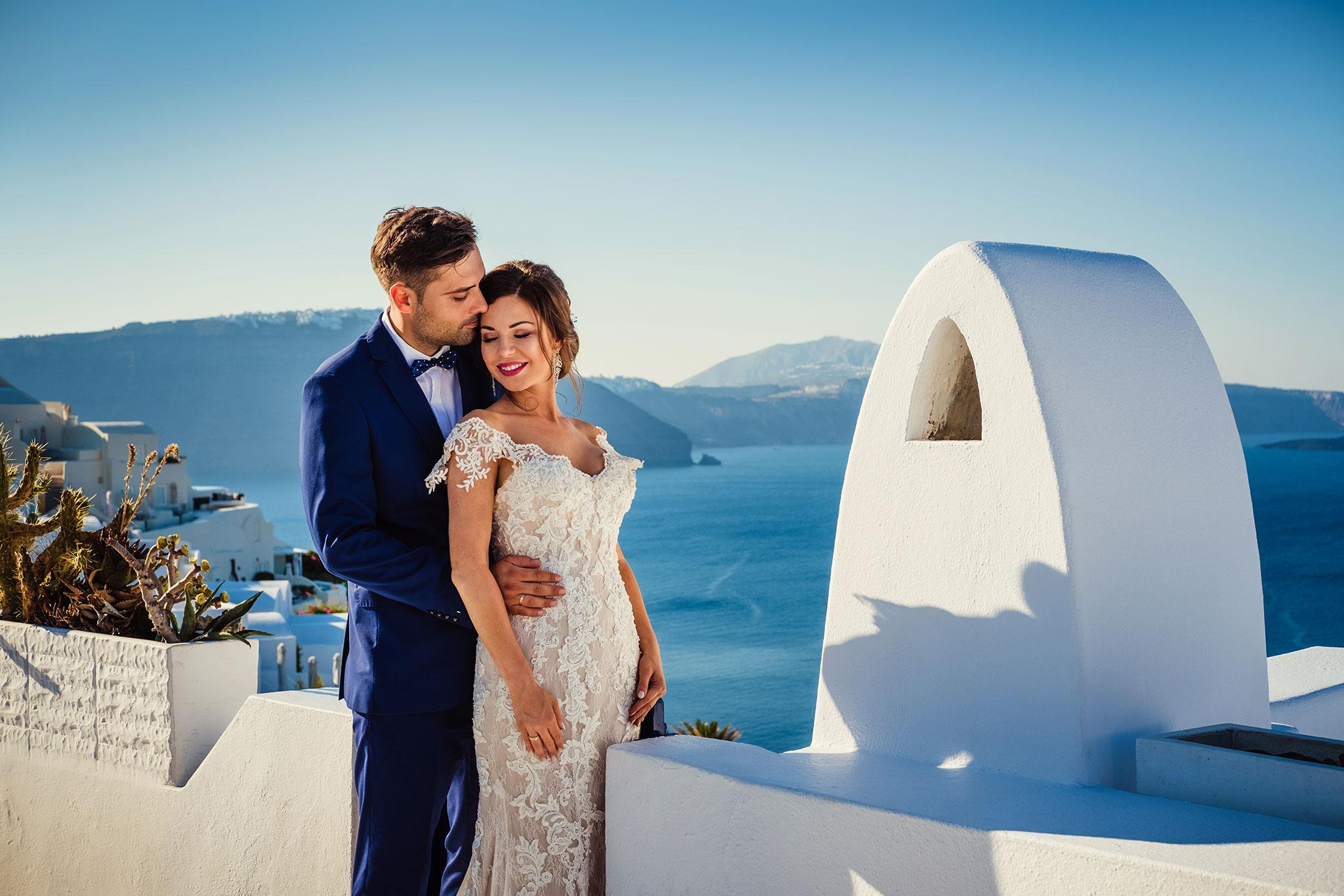 sesja ślubna Santorini