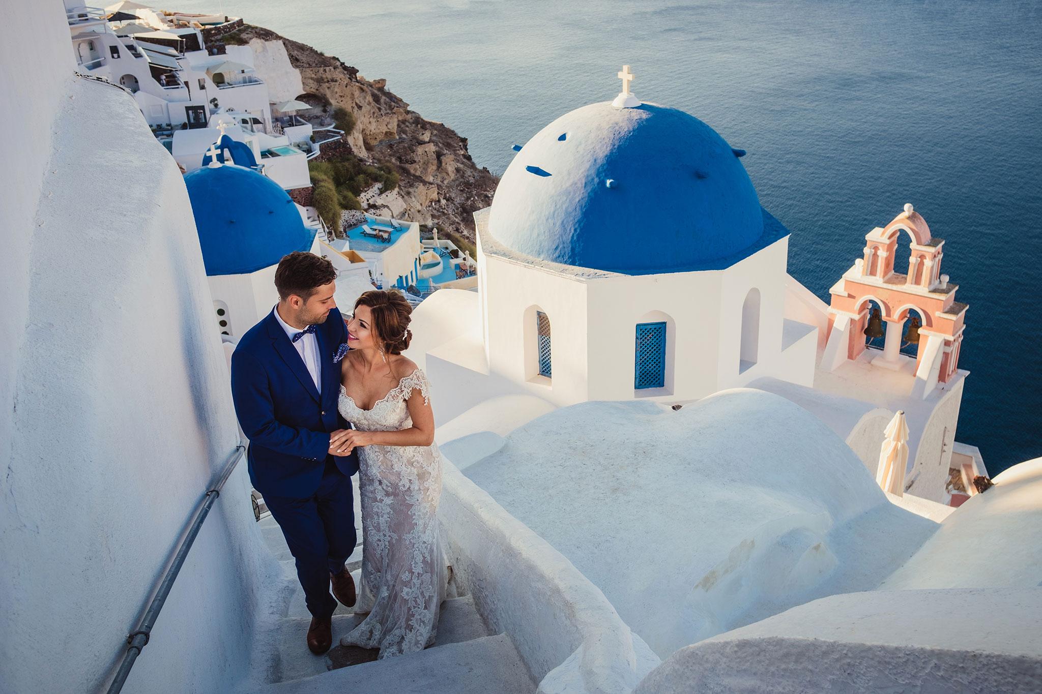 Santorini ślub